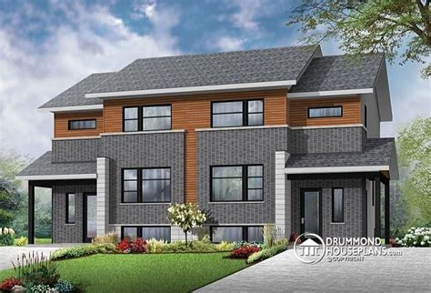 multi family house plans apartment contemporary 4 unit apartment house plan multi family