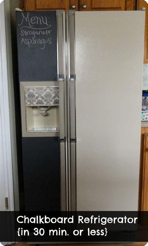 chalkboard painting refrigerator best 25 chalkboard paint refrigerator ideas on