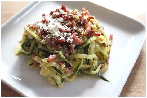 spaghetti de courgette 224 la carbo recettes cook 233 o