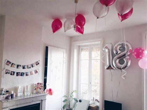 d 233 coration anniversaire 18 ans birthday my diy birthdays