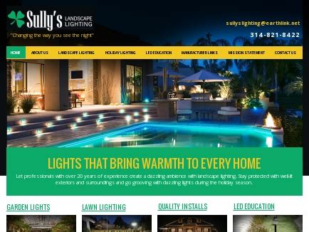 landscape lighting st louis mo sully s landscape lighting design installation garden