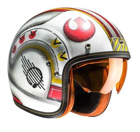 Motorradhelm Star Wars by Casque Jet Hjc Fg70s Star Wars X Wing Fighter Pilot Mc1f