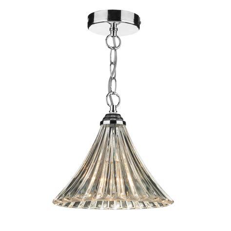 pendant ceiling light ardeche fluted glass single ceiling pendant light