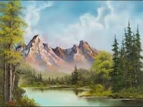 bob ross paintings on display la peinture a l huile c est pas difficile comment peindre