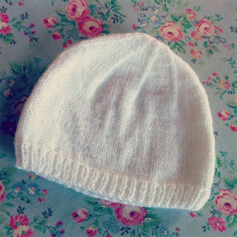 hats knitted on needles 2 hour baby hat needles hats and mittens and