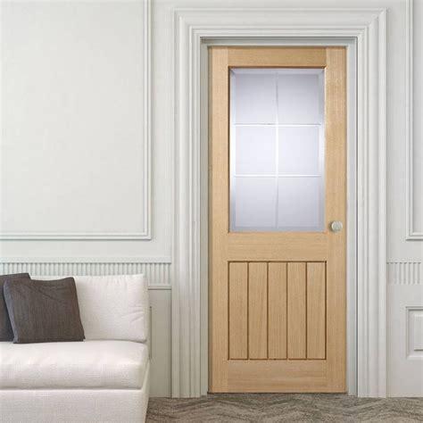 oak doors with glass mexicano valencia oak door with brilliant cut glass