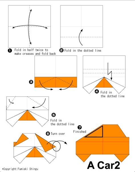 how to make origami vehicles origami car origami paper crafts