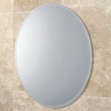 bathroom mirrors oval shaped oval bathroom mirrors derektime design tips