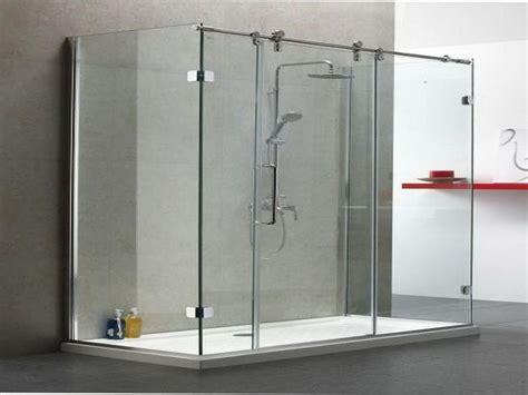 sliding glass shower doors frameless 112 best images about frameless glass shower doors on