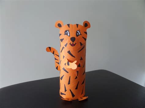 tiger crafts for toilet roll tiger my kid craft