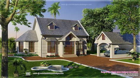 garden home house plans vacation garden home design in 1200 sq home kerala