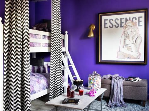 Dining Room Drapery Ideas update a bunk bed with paint and drapery panels hgtv