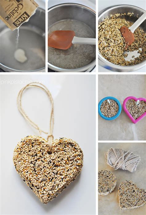 easy bird feeder crafts for a sweet tweet pink pistachio