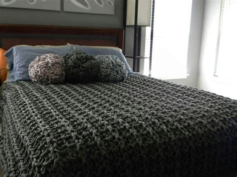 chunky knit bedspread 24 best images about knitting on