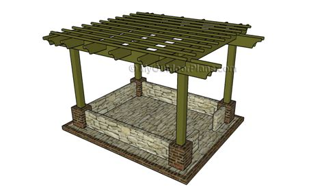 pergola blueprints free pergola design myoutdoorplans free woodworking plans