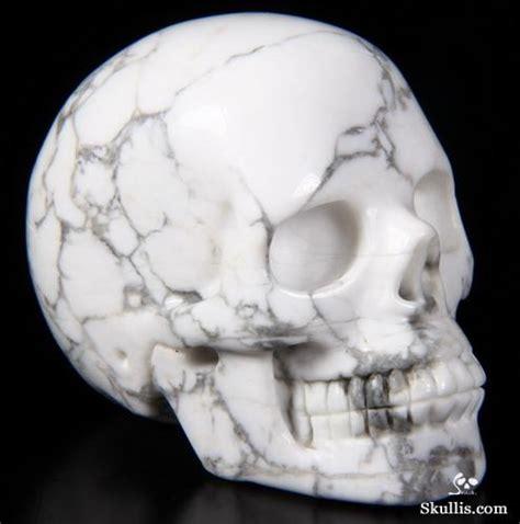 howlite skull 2 4 quot howlite carved skull realistic