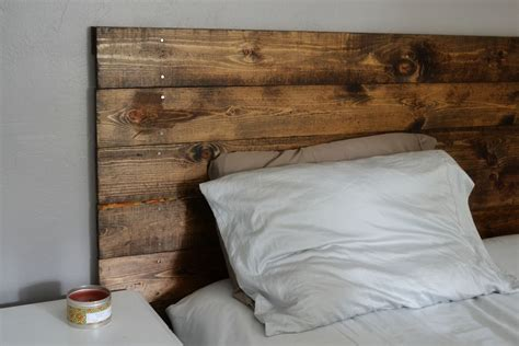 make wood headboard headboard finished