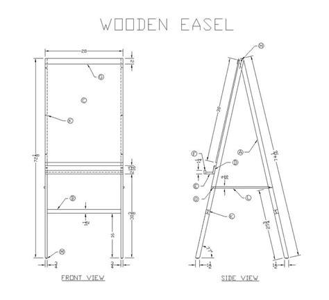 artist easel woodworking plans easel building plans house design