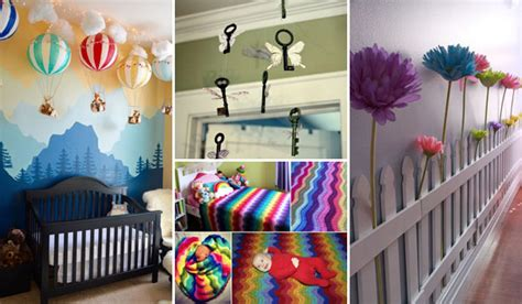 decorating idea for 22 terrific diy ideas to decorate a baby nursery amazing
