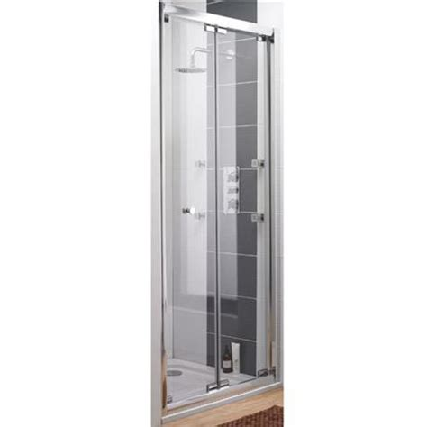 bi fold shower door frameless ultra roma frameless bi fold shower door at