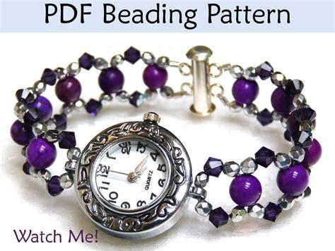beading pdf beading tutorial bracelet jewelry pattern