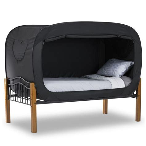 bed with tent privacy pop bed tent black product detail privacy pop 174