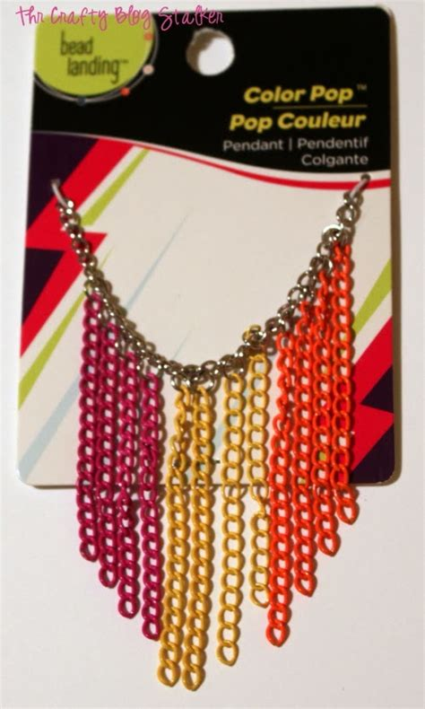 make your own costume jewelry how to make neon chain earrings the crafty stalker