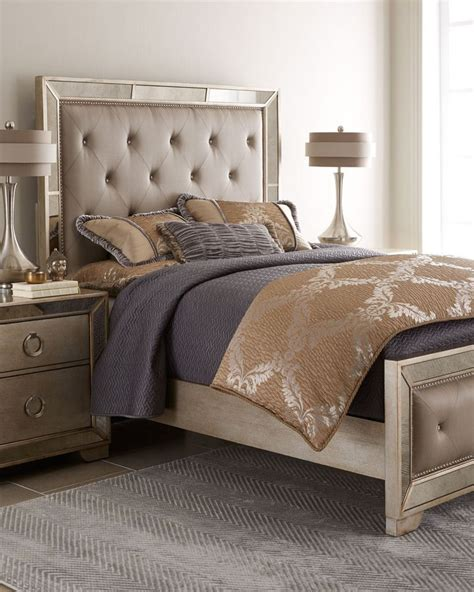 horchow bedroom furniture horchow lombard bedroom furniture mirrored headboard