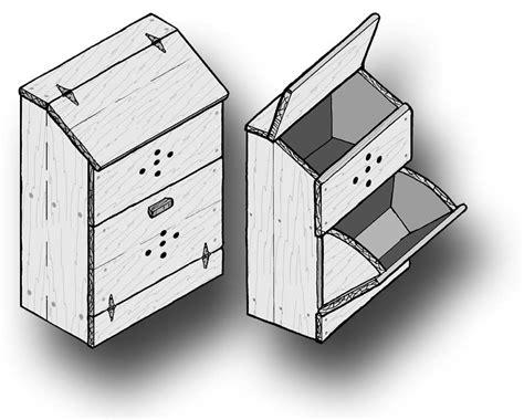 potato and bin woodworking plans woodwork plans potato bin ebooks home and garden