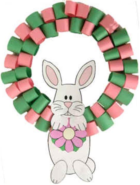 dtlk crafts bunny wreath