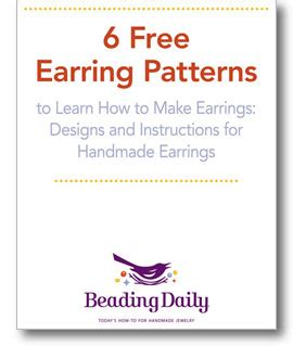 learn how to bead american 6 free earring patterns to learn how to make earrings