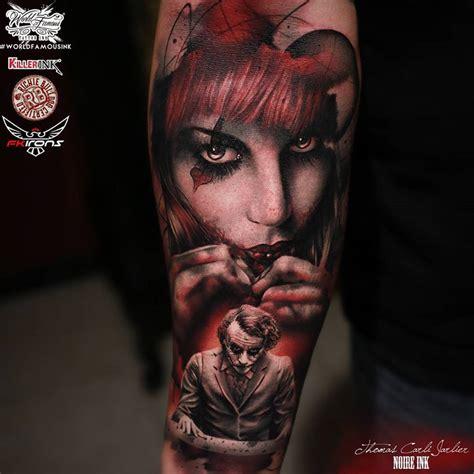 harley quinn and joker best tattoo design ideas
