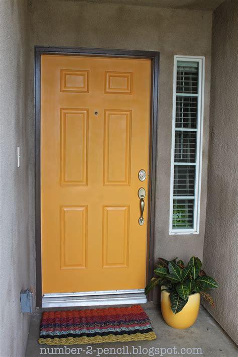 spray painting exterior doors spray paint the front door no 2 pencil