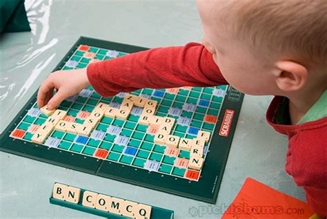 word plays scrabble grown up scrabble for beginning readers picklebums