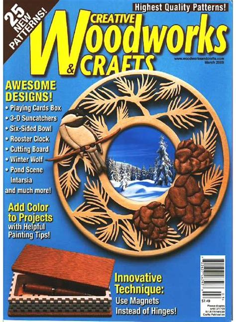 woodworks magazine creative woodworks crafts march 2009 pdf