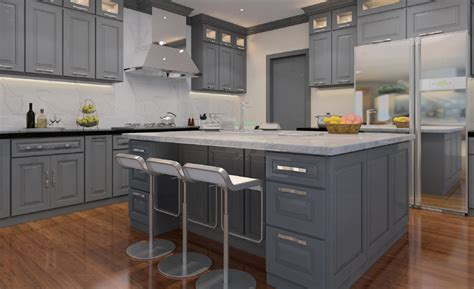 grey painted kitchen cabinets classic grey cabinets ready to assemble kitchen cabinets