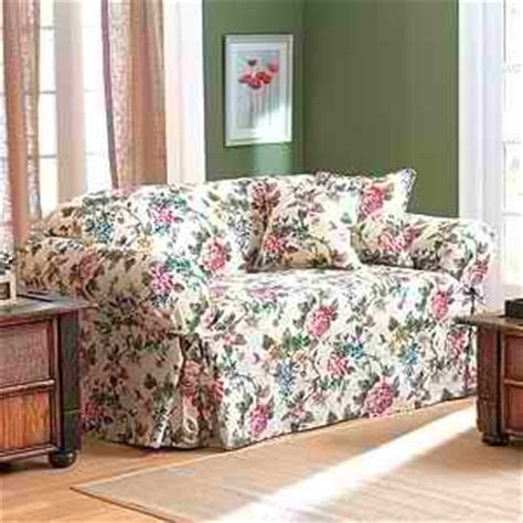 floral sofa slipcovers floral patterns like the one on this sofa slipcover are