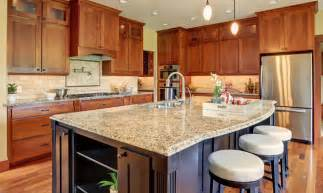 types of kitchen designs types of kitchen countertops image gallery designing idea