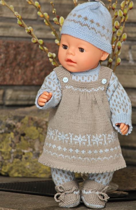 free knitting patterns for 18 inch baby dolls baby doll clothes patterns