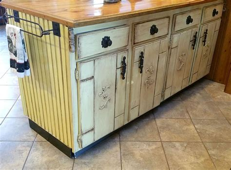 Kitchen Cabinet Island Makeover Decoupage Kitchen Design