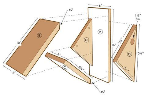 chickadee house plans build a chickadee nesting box quarto homes