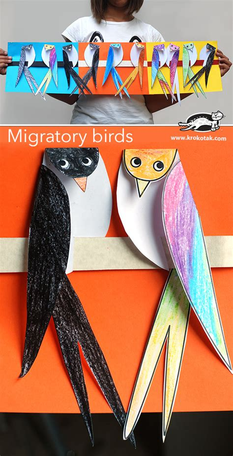 How To Make Halloween Decorations At Home krokotak migratory birds
