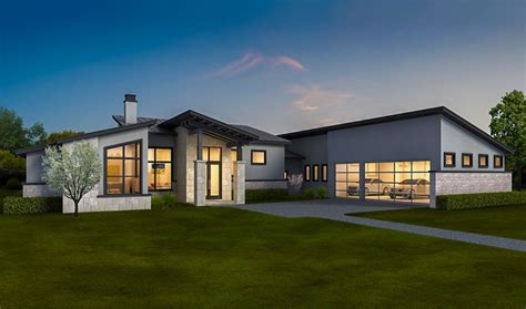house plans with inlaw apartment exclusive contemporary ranch home with in apartment 430028ly architectural designs