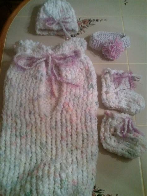 loom knit baby cocoon loom and crochet baby cocoon set crochet and loom