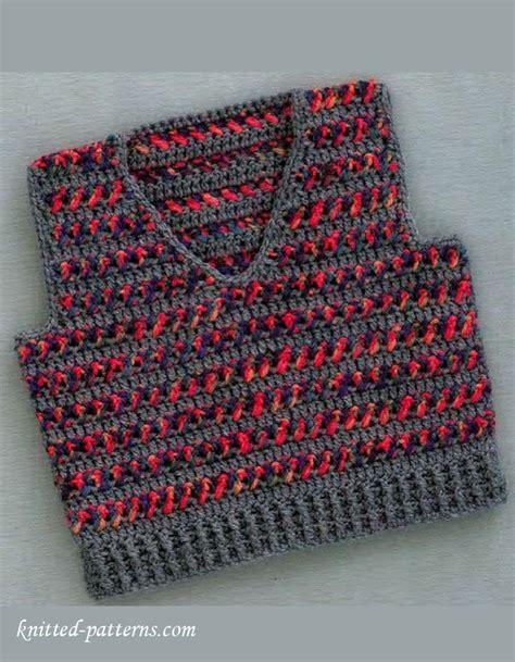 baby vest free knitting pattern baby boy vest crochet pattern free free knitting