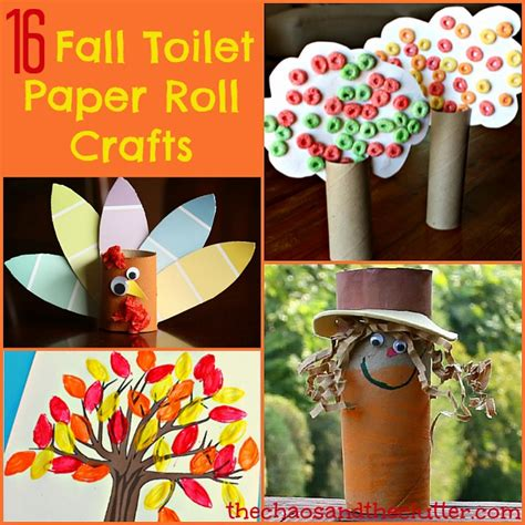 crafts you can make with toilet paper rolls 16 fall toilet paper roll crafts
