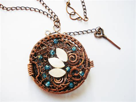 what is wire wrapping in jewelry wire wrapping jewelry pendant handmade with copper wire