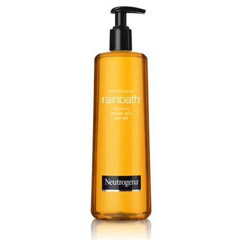 neutrogena shower and bath gel neutrogena rainbath refreshing shower and