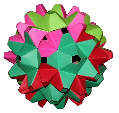 rhombic dodecahedron origami rhombic icosahedron dodecahedron origami constructions
