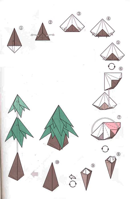 how to make a tree origami origami tree